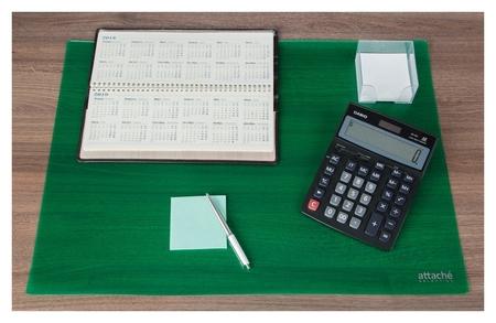 Коврик на стол Attache Selection 47,5x66см, прозрачный зеленый, 2808-508  Attache