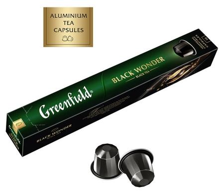 Чай в капсулах Greenfield блэк вандэ, 10 кап, 1362-10  Greenfield