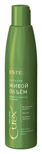 Шампунь придание объема для сухих и поврежденных волос  Estel Professional