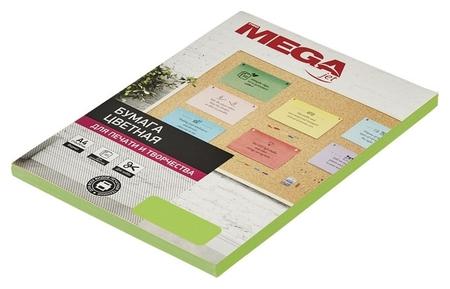 Бумага цветная Promega Jet (А4,75г,зеленый неон) пачка 100л  ProMEGA
