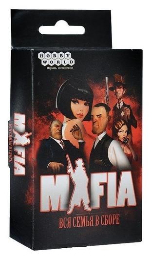 Настольная игра мафия. Вся семья в сборе (Карточная игра) 1070  Hobby World
