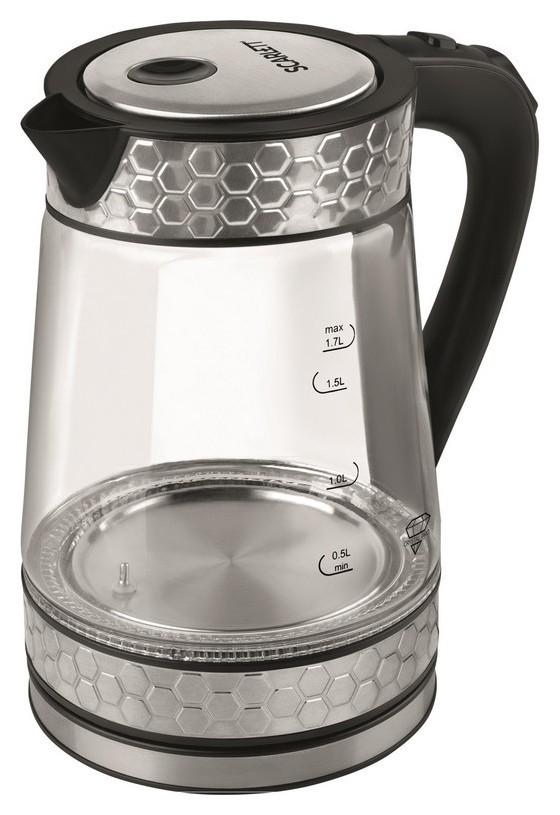 Чайник Scarlett SC - Ek27g58, 1.7л, цифровое управление, сталь  Scarlett