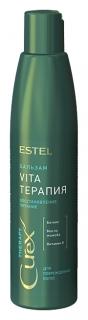 Крем-бальзам для сухих, ослабленных и поврежденных волос  Estel Professional