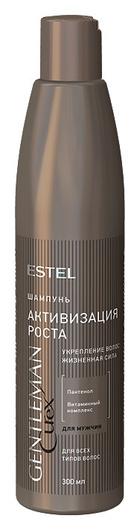 Шампунь для всех типов волос Активизация роста Curex Gentleman  Estel Professional