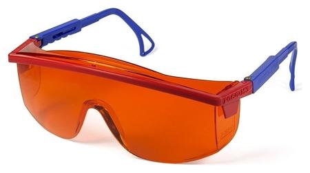 Очки защитные открытые росомз О37 Universal Titan оранжевые (13712)  Росомз