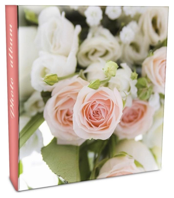 Фотоальбом Delicate Flowers 50 магнитных23x28см,3-кольца 63682/lm-sa50rb  NNB