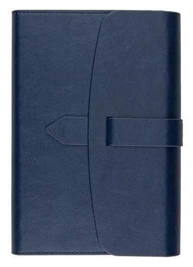 Ежедневник недатированный А5 175x235 мм Senate синий 272 стр. 3-213/03  Bruno Visconti