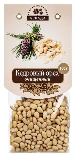 Орехи аркада кедровый орех очищенный, 100г  Аркада