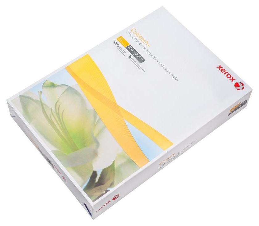 Бумага для цв.лазер.печ. Xerox Colotech Plus (А3,250г,170%cie) пачка250л.  Xerox