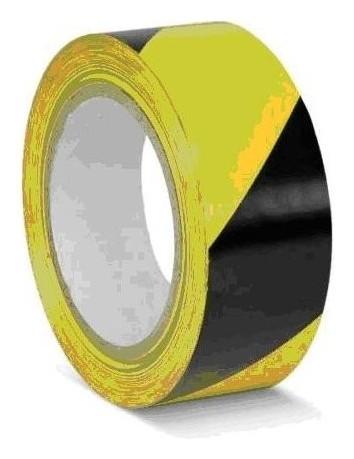 Лента для разметки ПВХ желто-черный 50ммx33м (Kmsw05033)  Mehlhose