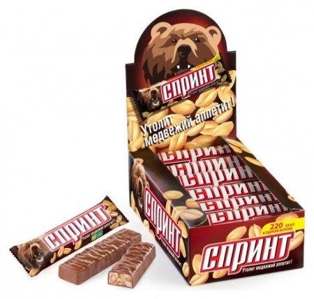 Шоколадный батончик спринт 50г  СПРИНТ
