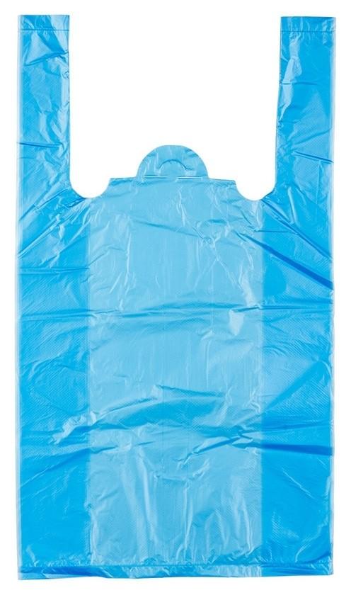 Пакет майка ПНД 25+12х45 10 мкм 100шт./уп. цветной  Знак качества