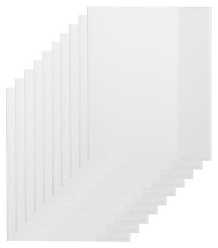 Обложка для дневника,тетрадей,210х350,пп,100мкм, уп 10 шт  NNB