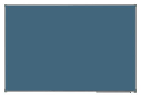 Доска магнитно-меловая 1-элементная Attache Selection 100х60, цвет синий  Attache