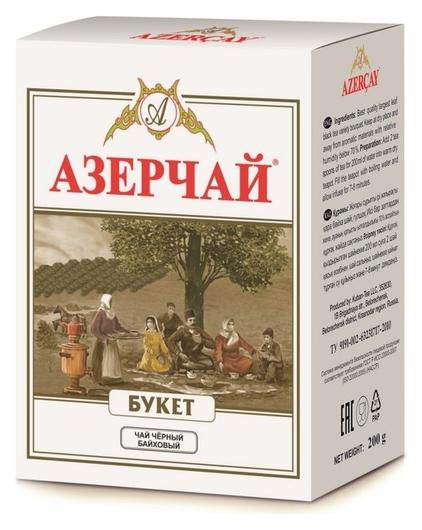 Чай азерчай букет черный 200г 211433/416263  Азерчай