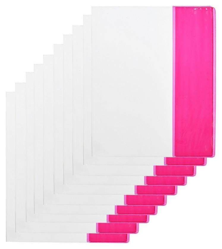 Обложка №1 School,для дневника,тетрадей,цв.клап,212х350,пвх,110мкм, 10 шт/уп  №1 School
