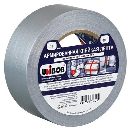 Клейкая лента армированная Unibob 48мм х 40м  Unibob