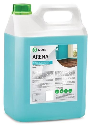 Средство для мытья пола Arena 5кг нейтральное (Паркет,ламинат,мрамор)  Grass