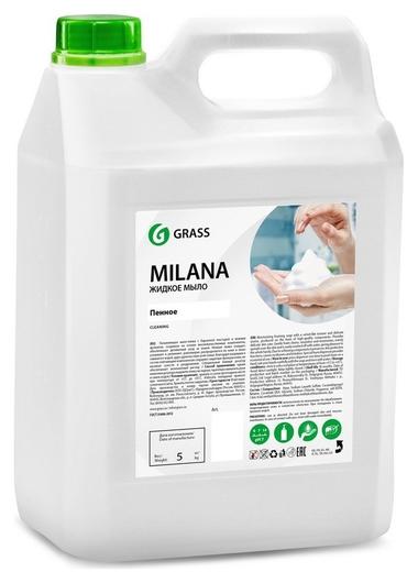 Мыло жидкое Grass Milana пенное 5кг канистра_  Grass