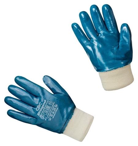 Перчатки защитные Strongshell полное нитриловое покрытие резинка р.11 Strongshell