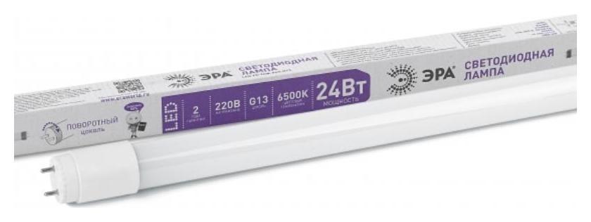 Лампа светодиодная ЭРА LED T8-24w-865-g13-1500mm 24вт G13 6500к б0033007  Эра