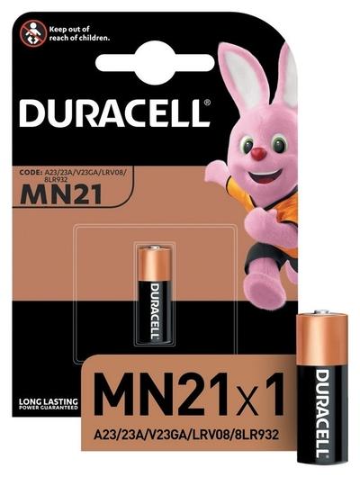 Батарейки Duracell Mn21 для сигнализации бл/1шт  Duracell