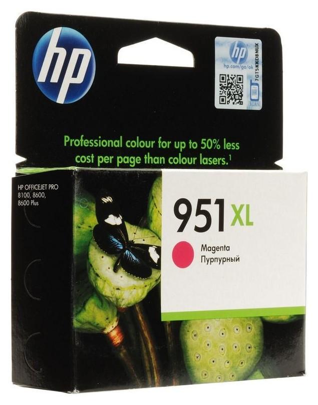 Картридж струйный HP 951xl Cn047ae пурп. пов.емк. для OJ Pro 8600  Hp