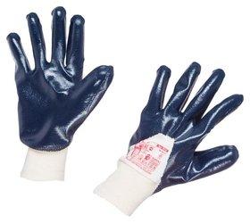 Перчатки защитные ампаро нитролайт не полное нитрилов покр резинка (448595)  Ампаро