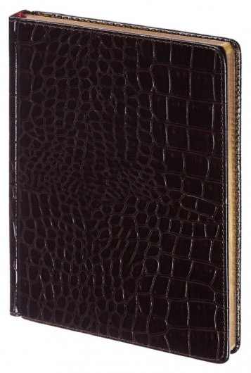 Ежедневник недатированный коричневый альт А5+ сaiman 3-494 Д  Альт