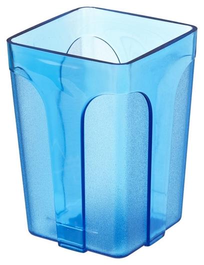 Подставка стакан Attache City, прозр.синий  Attache