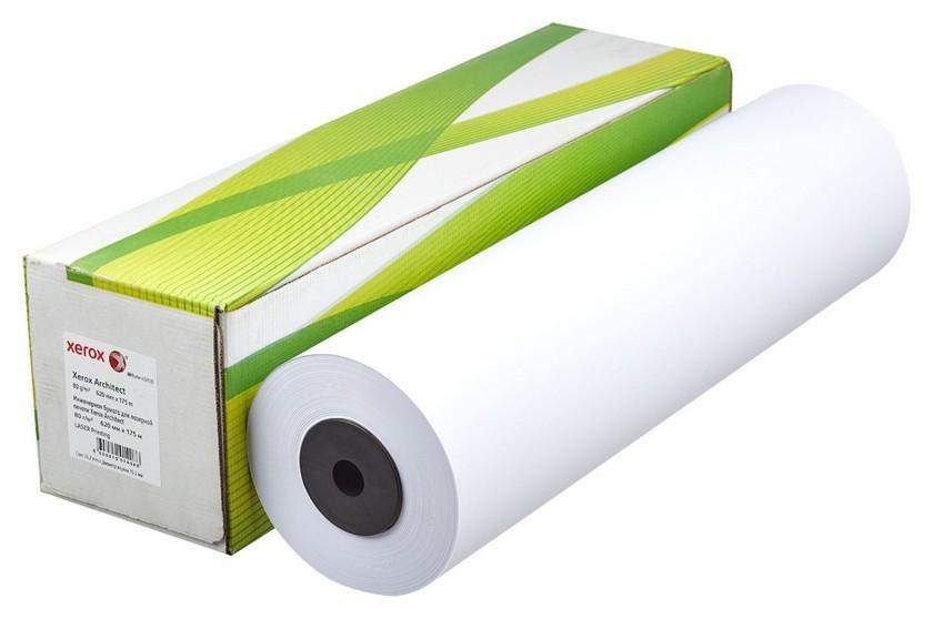 Бумага широкоформатная Xerox Architect 80г 620ммх175м 76мм  Xerox