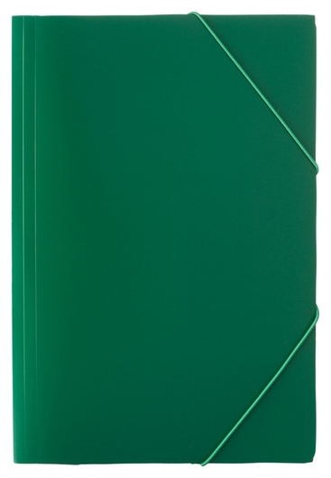 Папка на резинках Attache Economy 045-pr-e зеленый  Attache