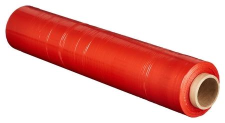 Стрейч-пленка для ручн.упак 180% 20 мкм 50 смx217м красная 2кг нетто NNB