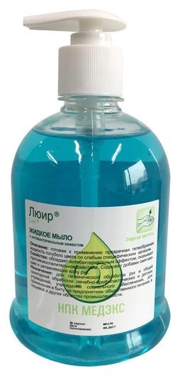 Дезинфицирующее мыло люир антибактериальное 500 мл (С дозатором)  НПК МЕДЭКС