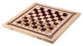 Настольная игра три в одном (Нарды, шашки, шахматы) 400x200x36 B-7  NNB