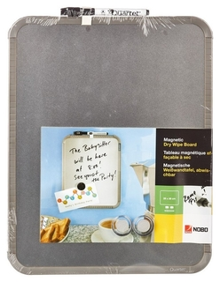 Доска магнитно-маркерная лак Nobo Slimline, 360x280 мм, сереб.qb05442cd  Nobo