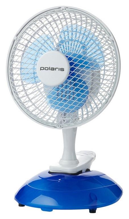 Вентилятор настольный Polaris PCF 15w,клипса+подставка,15 вт,диаметр-15см Polaris