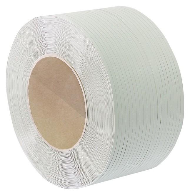 Стреппинг лента полипропиленовая 9мм х 0,5 (4000 м.) белая  NNB