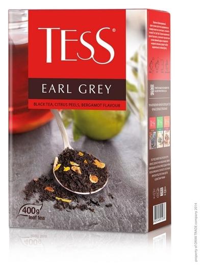 Чай Tess Earl Grey листовой черный с добавками,400г 1503-10  Tess
