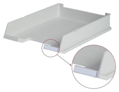 Лоток для бумаг HAN с инд.окном серый 1020/11 Han