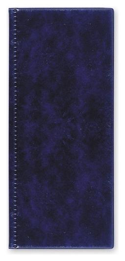 Визитница настольная на 96 визиток 2350и-201, пвх, синий  Attache