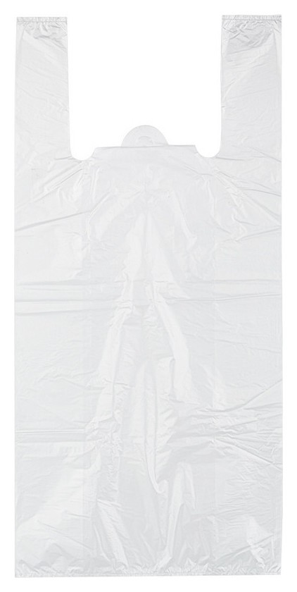 Пакет-майка на бутыль19л,пнд,32+20x68см,прозр,18мкм,100шт/уп  Знак качества
