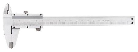 Штангенциркуль 250 мм, цена деления 0,02 мм, металлический, с глубиномером  Matrix