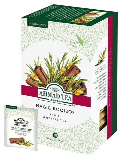 Чай Ahmad Tea травяной с корицей (Мэджик ройбуш) 20пакx1,5г 1165  Ahmad Tea