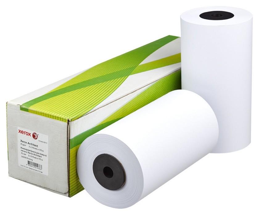 Бумага широкоформатная Xerox XES 75г 310ммх175м 76мм  Xerox
