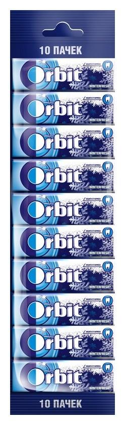 Жевательная резинка Orbit винтерфреш мультипак, 10шт, 136г  Orbit