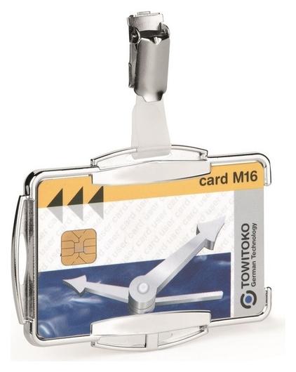 Бейдж держатель для пластиковой карты Durable 8901 с защитой от Rfid Durable