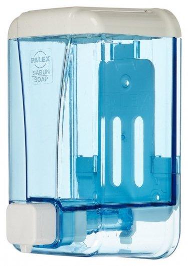 Дозатор для жидкого мыла Palex 3430-1 пластик прозрачный 1000 мл Palex