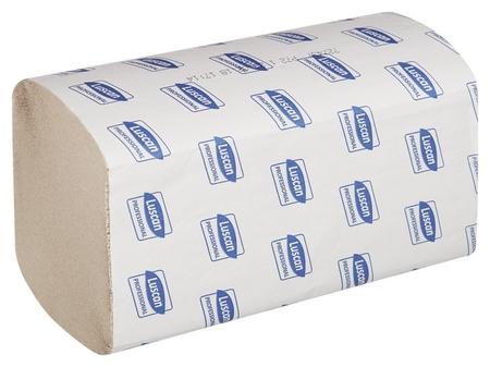 Полотенца бумажные для дисп. Luscan Professional Vслож1слнат втор250л20пач/уп  Luscan