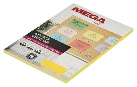 Бумага цветная Promega Jet (А4,80г,желтый интенсив) пачка 50л  ProMEGA